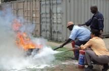 CIMENTOS DE MOÇAMBIQUE | Formação de Combate a Incêndio